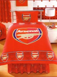 Arsenal Duvet Set Single, - Bedding