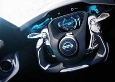 Nissan BladeGlider Concept Interior - Steering Wheel