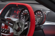Nissan IDx NISMO Concept Interior - Steering Wheel and Gauges - Car Body Design