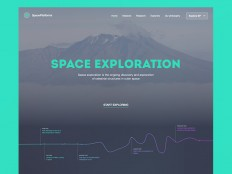 Space UX by Maximlian Hennebach