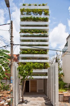 Vo Trong Nghia Architects — Stacking Green — Image 1 of 17 - Divisare by Europaconcorsi