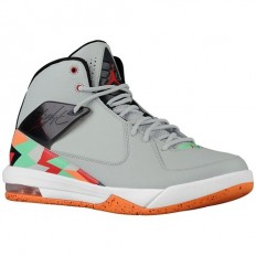 Jordan Air Incline - Men's - Basketball - Shoes - Grey Mist/University Red/Black/Bright Mandarin