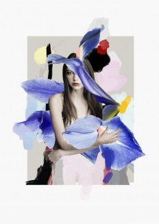 Elegant and Floral Photo-Collages – Fubiz™