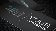 35+ Cool Business Cards Templates with PSD | GraphicsLava