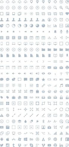 IKONS - 300 free vector icons from Piotr Adam Kwiatkowski