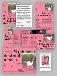 It's Nice That : Tres Tipos Gráficos creates clean, pared-back theatre posters