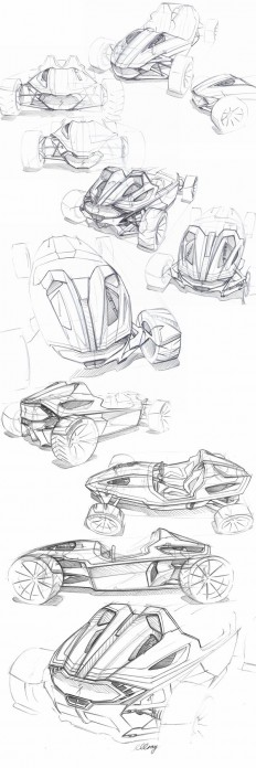 Specialized MR Roadster on Behance | ID - Sketching | Pinterest
