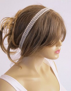 Wedding headband Bridal Headband Headpiece Bridal Hair by selenayy