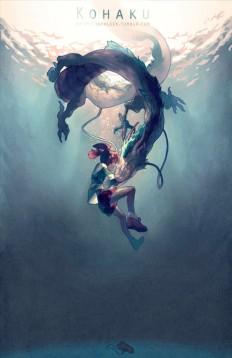 Kohaku Spirited Away on Inspirationde