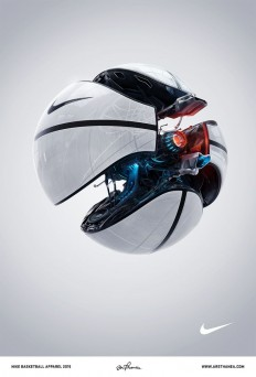 Nike Basketball work by Ars Thanea | NIKE | Pinterest