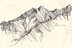 Jennifer Burtchen Explores The Tallest Mountain Tops With Her Pen | iGNANT.de