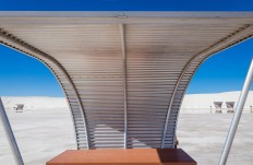 Picnic shelter at White Sands National Park - Photography Wallpapers