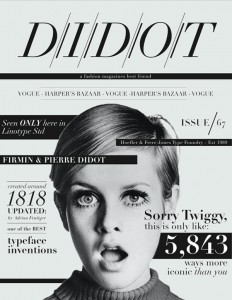 Twiggy Poster by Casandra Straus. on Inspirationde