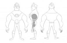 Character Modelsheet by jfsouzatoons on DeviantArt