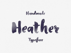Heather Typeface by Creativedash