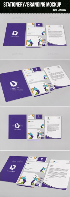 Stationery/Branding Mock-up | GraphicRiver