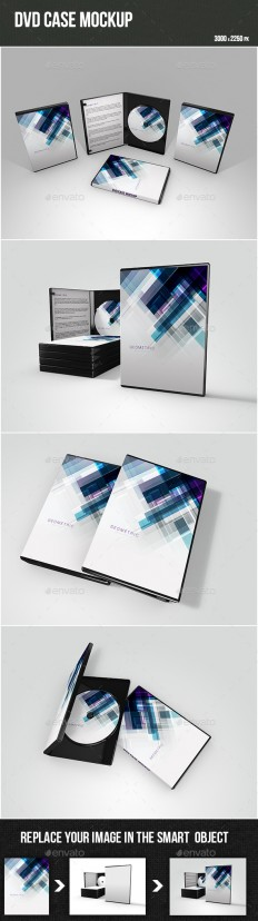 DVD Case Mockup | GraphicRiver