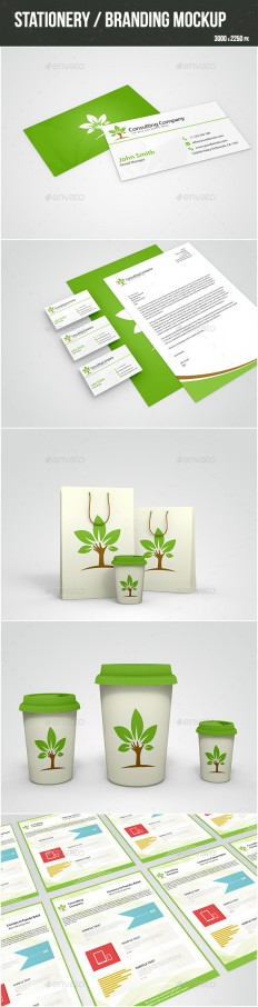 Stationery Mock-up | GraphicRiver
