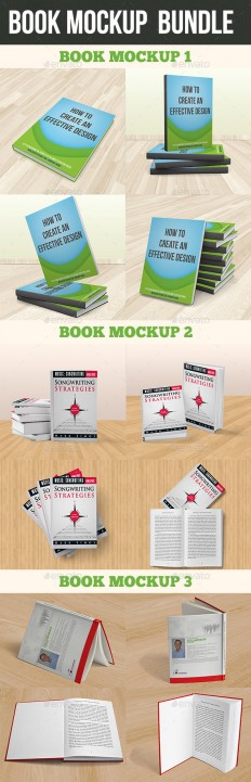 Book Mockup Bundle | GraphicRiver