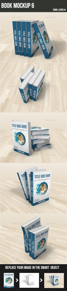 Book Mockup 6 | GraphicRiver