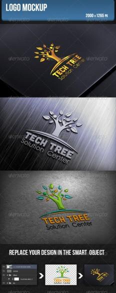 Logo Mockup | GraphicRiver