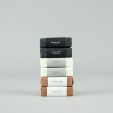 Dead See Mud Natural Soap in Packaging Design