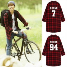 Exo Exo K Exo M Shirt Luhan Shirts Return to 20 Years Old Movie Same Style | eBay