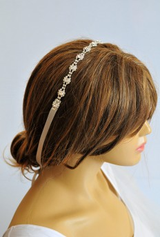 Wedding Headband Rhinestone headband bridal hairband by selenayy