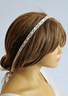 wedding headband wedding hair accessories hairband by selenayy