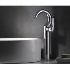 Amazing Chrome Finish Single Hole Mount Mixer Taps Bathroom Sink Faucet – FaucetSuperDeal.com | Bathroom Faucets | Pinterest