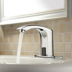 4 Inch Brass Bathroom Sink Faucet with Automatic Sensor (Cold) | Bathroom Faucets | Pinterest