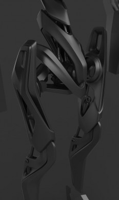 search an rescue drone WIP by gotcharabbit | Surfaces and Detail | Pinterest