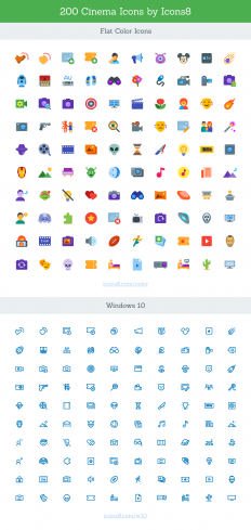 Freebie: Cinema Icon Set (SVG) | Codrops