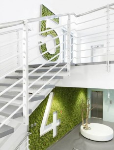 The interior of the building KKCG on Inspirationde