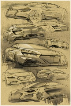 Car Design Sketchbook on