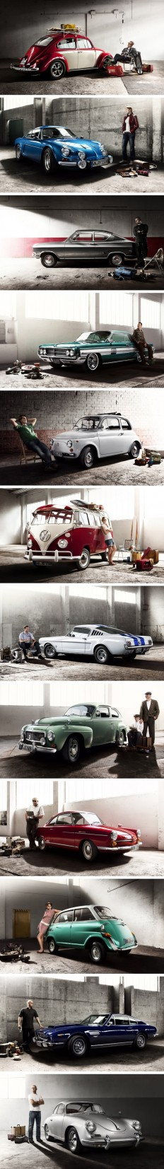 Retro Colleccion del Oldtimer Calendar por Mirko Frank | Inspiration | Pinterest