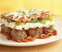 Weight Watchers Recipes - Meatball Lasagna