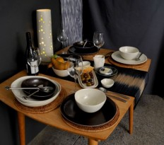 Tables are set - Steiner Ceramics - Handmade Ceramics in New Zealand
