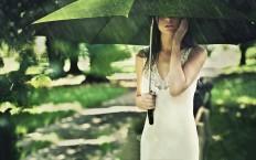 Girl Under Umbrella - Photography Wallpapers