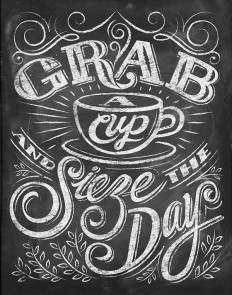 Chalkboard Quotes for Coffee Lovers on Inspirationde
