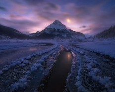 Amazing Snowy Mountain Landscape - Photography Wallpapers