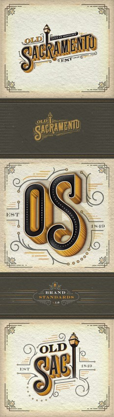 Old Sacramento Logo Design | ID concepts | Pinterest