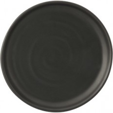 Buy Bayly & Collis Black Entree Plate 24cm at Stevens