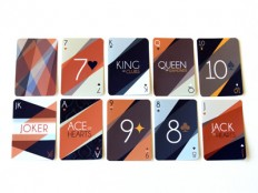 Art Deco Playing Cards by Rachel Groves