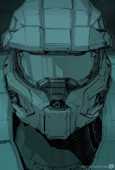 ArtStation - Halo Sketch, Mike Hill