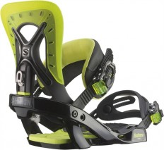 Salomon Balance Black/ Lime Green Snowboard Bindings 2015