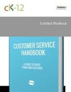 Customer Support Handbook | CK-12 Foundation