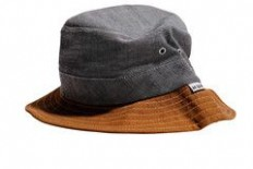 Huf Chambray Field Bucket Hat Black