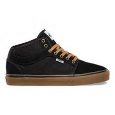 Vans Chukka Midtop (Two Tone) Black/ Gum Sneakers