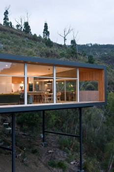 Wood house with single level #architecture in Architecture